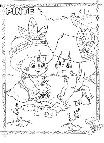Dia Do Indio 19 De Abril Atividades Almanaque Dos Pais